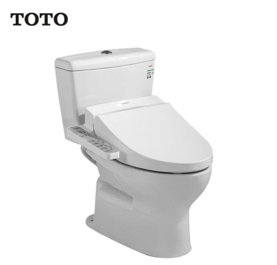 TOTO 东陶 C300E1B+TCF345CS 智能马桶盖套装