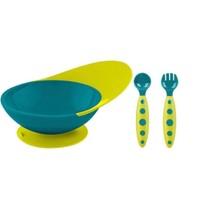 boon 啵儿 儿童吸盘碗+训练勺叉套装