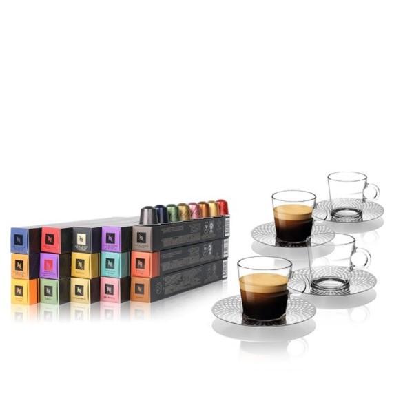 Nespresso 胶囊咖啡迎新套装 意式浓缩咖啡胶囊 150颗