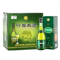 汾酒 竹叶青 露酒 牧童盒 竹叶青475ml*6瓶 45度 整箱装