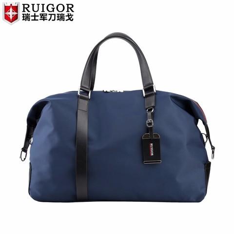 瑞戈 瑞士旅行手提包 蓝色