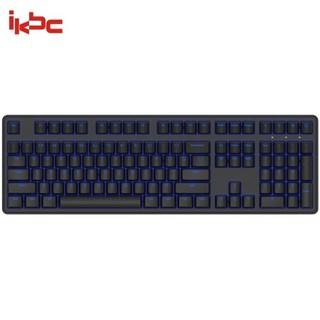 iKBC raceman系列 R300 机械键盘(Cherry黑轴、PBT、单色背光)