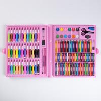 杜优克 儿童绘画水彩笔套装150件两色可选