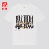UNIQLO 优衣库 童装/亲子装(UT)MANGA印花T恤(短袖)(鬼灭之刃系列)435309
