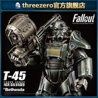threezero 辐射 T-45 NCR回收动力装甲1/6比例人偶
