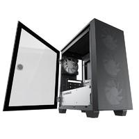 GAMEMAX 游戏帝国  MINI AREO ATX中塔电脑游戏主机箱 黑色