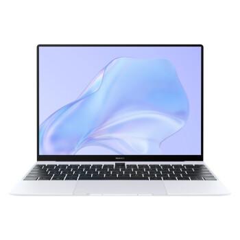 华为笔记本电脑 MateBook X 2020款 13英寸 十代酷睿i5 16G+512G 3K触控全面屏/时尚轻薄本 冰霜银