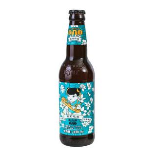 高大师婴儿肥茉莉花茶拉格国产精酿啤酒330ml 12瓶