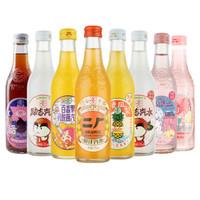MINGQIAN 茗仟 碳酸饮料 全家福 275ml*6瓶 (荔枝*2+凤梨+运汽+百香果+橙汁)