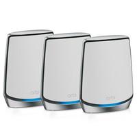 PLUS会员:NETGEAR 美国网件 Orbi WiFi6 RBK853 布式高速路由器 三支装