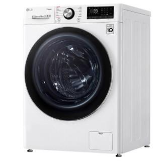 LG 乐金 FCV13G4W 滚筒洗衣机 13kg  奢华白