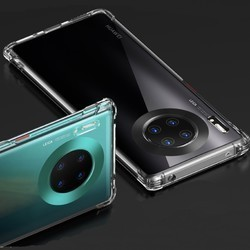 SMARTDEVIL 闪魔 适用于华为mate30pro手机壳p40透明硅胶p30全包防摔p20气囊nova6/5G/4G/SE/5i新保护套超薄软壳荣耀V30