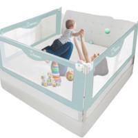 京东PLUS会员:Boxbaby  儿童床护栏围栏  2米(单面)