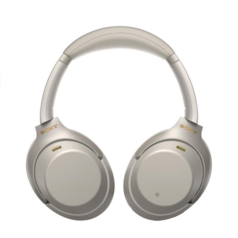 SONY 索尼 WH-1000XM3 头戴式无线蓝牙降噪耳机 铂金银