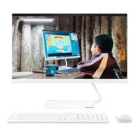 联想(Lenovo)AIO520C 23.8英寸 一体机台式电脑 商务办公家用电脑 i3-8145U 8G 256G SSD 白色
