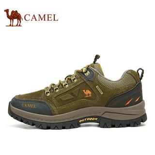 骆驼(CAMEL) 户外运动登山鞋防滑越野徒步鞋  A632026925 卡其 40