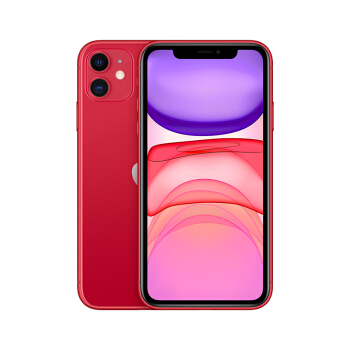 Apple 苹果 iPhone 11 智能手机 64GB 全网通 红色
