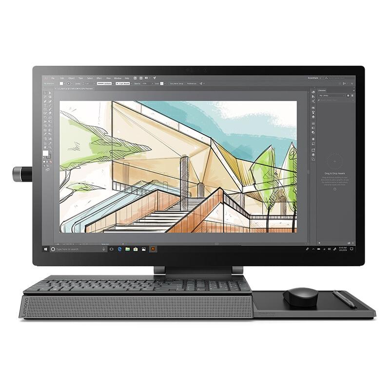 Lenovo 联想 Yoga A940 27英寸一体机(i7-9700 16GB、2T+1TB SSD、RX560 4G、触控屏、无线键鼠)