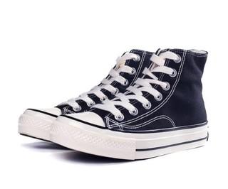 Paul Frank 大嘴猴 5090018003 男女款高帮帆布鞋 黑色 40