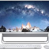 戴尔(DELL)灵越AIO 5491 23.8英寸 微边框一体机台式电脑(十代i5-10210U 8G 1T MX110 2G独显)银