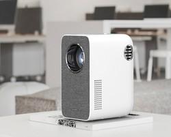 先奇(XIANQI)XQ-25 投影仪家用办公投影机电视(兼蓝光1080P 电子梯形校正 智能系统 AI语音 手机同屏) *2件