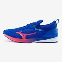 Mizuno 美津浓 WAVE DUEL 2 U1GD206062 男子竞速跑鞋 蓝 红 白 39