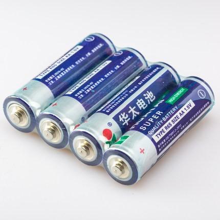 华太 普通碳性电池 5号/7号 4节装