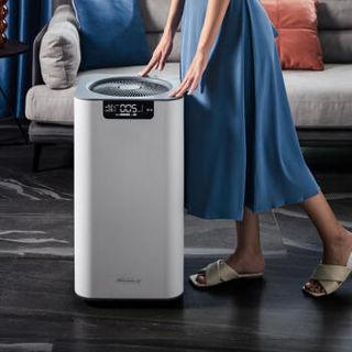 美国舒乐氏(SOLEUSAIR)空气净化器 除雾霾除甲醛 除过敏原除细菌 家用卧室婴儿静音自动强净化 母婴适用