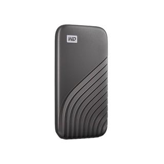 Western Digital 西部数据 WDBAGF5000AGY-CESN USB3.2 移动硬盘 500GB 深空灰