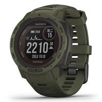 GARMIN 佳明 Instinct本能系列 太阳能战术版 户外智能GPS腕表 010-02293-47 丛林绿