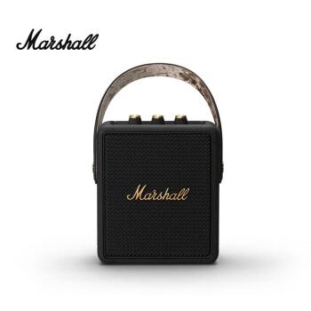 中亚Prime会员 : Marshall 马歇尔 Stockwell II便携式蓝牙音箱 黑金限定款