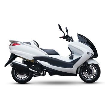 风感觉摩托车踏板车杰斯特T3国四电喷150CC大型 黑白色 套餐二 电喷150cc+蓝牙音响