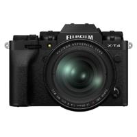 FUJIFILM 富士 X-T4 APS-C画幅 微单相机 黑色 XF 16-80mm F4 R OIS WR 变焦镜头 单头套机
