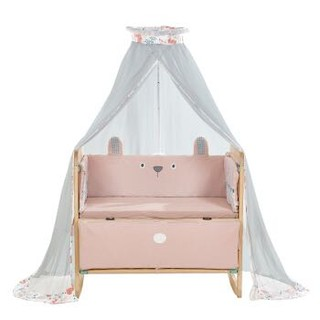 babycare婴儿床蚊帐带支架550*35*180cm