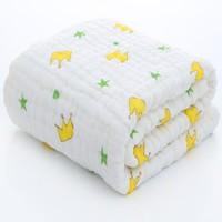 静晗 儿童泡泡纱布毯子