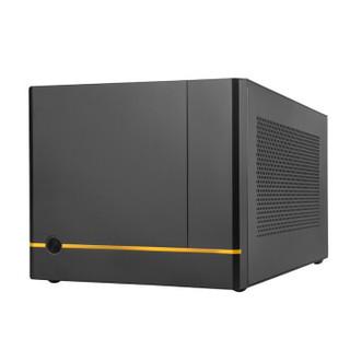 银欣(SilverStone)SG14 珍宝 ITX小机箱(高兼容/支持240水冷/长显卡/多存储)