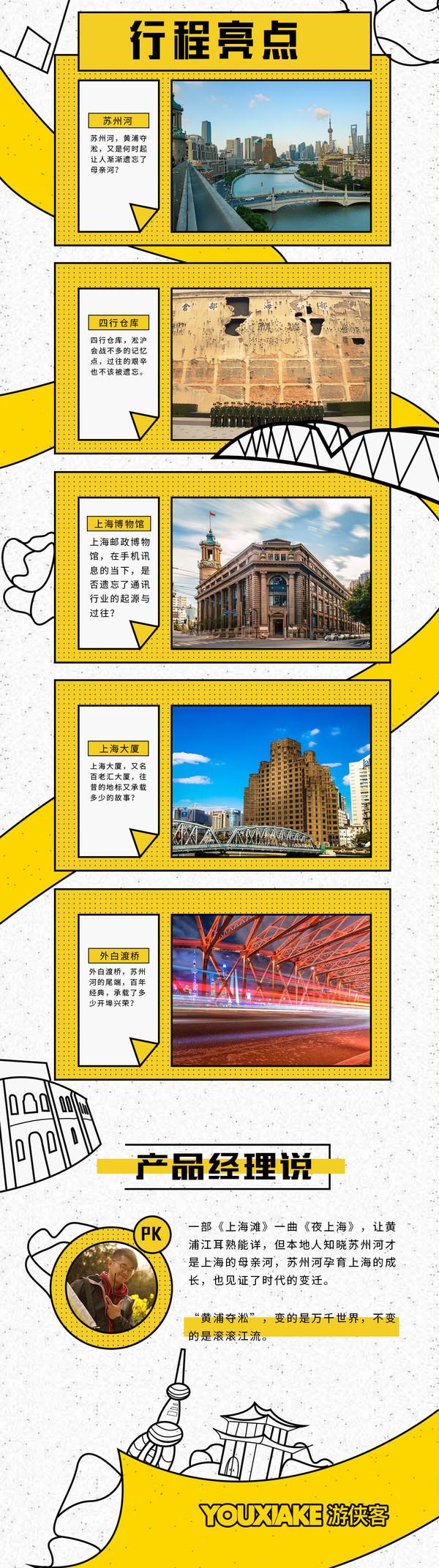 不忘历史!上海苏州河+四行仓库City Walk