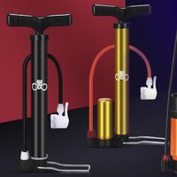 永久打气筒自行车单车泵简家用便携小型电动电瓶通用篮球气针高压