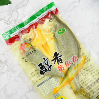 裕峰 醇香黄鱼鲞 黄花鱼 大黄鱼 小黄鱼  生鲜海鲜 去鳞去腮去内脏 免洗鱼干 宁德特产 醇香黄鱼鲞200g