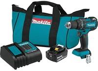 Makita XFD061 18V 无刷无绳电钻套装,