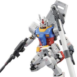 万代BANDAI高达拼插拼装模型玩具 MG 1/100 敢达 【送LED灯*1】RX-78-2元祖3.0