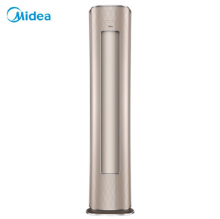 Midea 美的 新一级 风语者II 大3匹 智能中央语音 无风感新风立式空调柜机 KFR-72LW/BP3DN8Y-YK100(1)