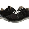 Clarks Ripton Plain 男士休闲鞋 Black Canvas UK7.5