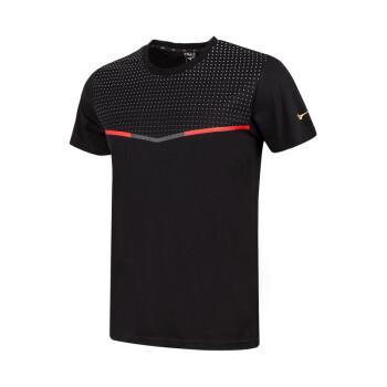 Mizuno MORELIA 35周年系列男款  运动短袖T恤 P2CA0061 黑 XL