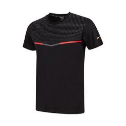 Mizuno MORELIA 35周年系列男款  运动短袖T恤 P2CA0061 黑 XL *4件