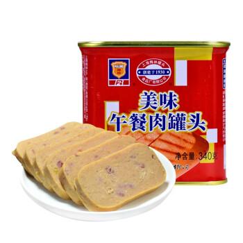 京东PLUS会员 : MALING 梅林 午餐肉 340g*5罐