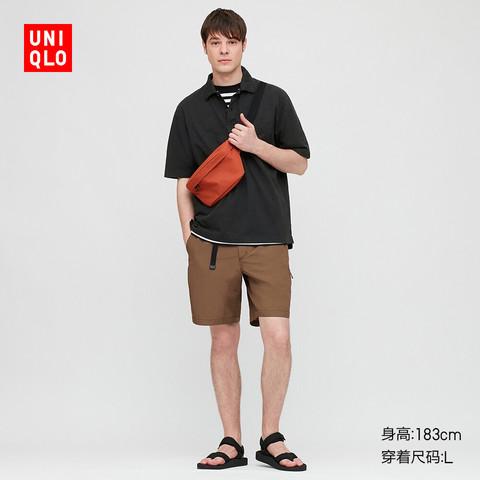 UNIQLO 优衣库 425972 男士全棉宽松POLO衫