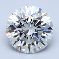 Blue Nile 2.60克拉圆形切割钻石