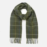 银联返现购:Barbour Tattersall 格子羊毛围巾