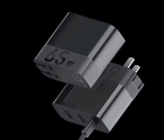 ZMI 紫米 HA835 PD充电器 65W 单体版 黑色
